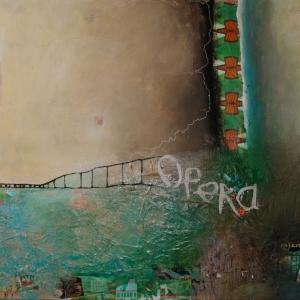 Opera, 140 x 100 cm