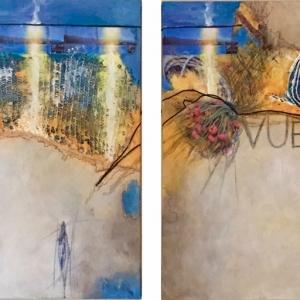 Vuelta, 2 x 110 x 90 cm