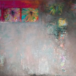Bergidylle 1, 140 x 100 cm
